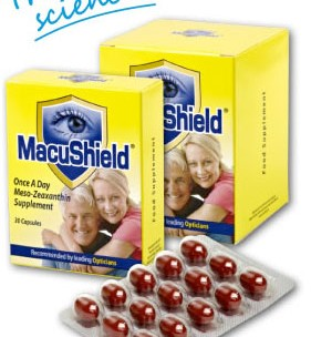 macushield supplements from Infocus Opticians Kilkenny, Naas and Portlaoise