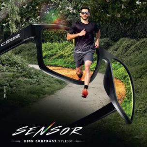 Cebe Running sunglasses high contrast at Infocus Opticians