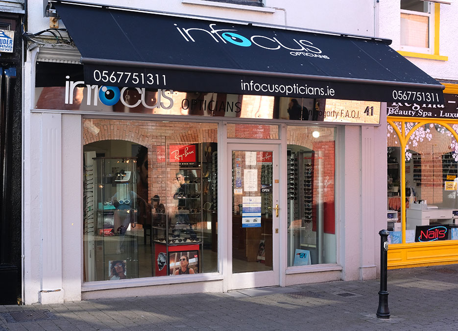 infocus_Opticians_Kilkenny_store