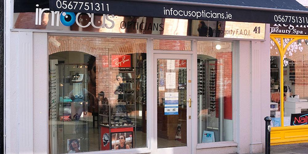Infocus Opticians store Kilkenny